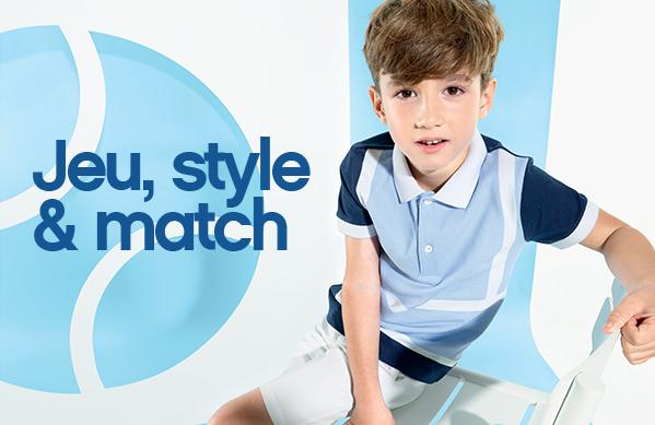 Jeu, Style et match