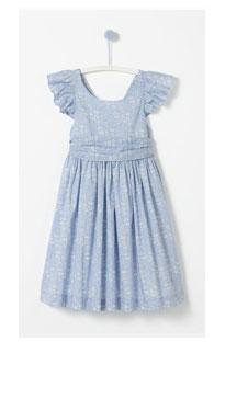 Liberty print dress